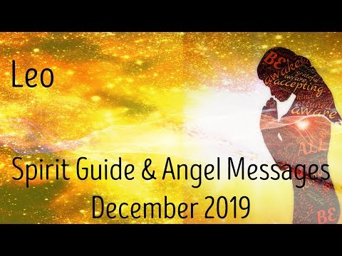 Leo ~ On the verge of a breakthrough! ~ Spirit Guide & Angel Messages Dec 2019
