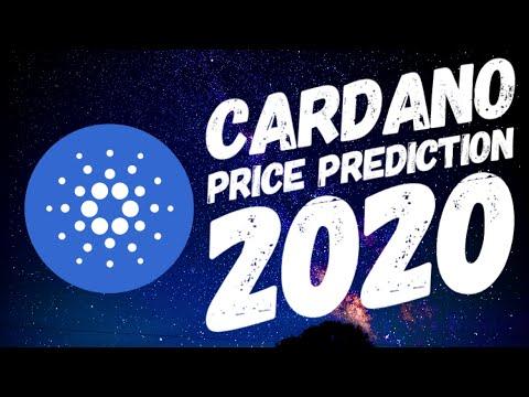 Cardano ADA Price Prediction 2020