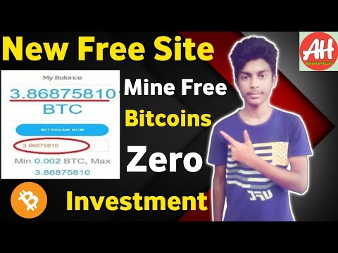 💥OMG😱 Launched New Free Bitcoin Mining Site 25GH/S Free+Zero Investment