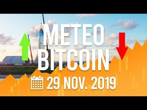 La Météo Bitcoin FR – 29 novembre 2019 – Analyse Crypto Fanta