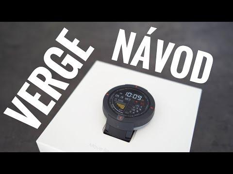 NÁVOD – Xiaomi Verge chytré hodinky // Recenze CZ
