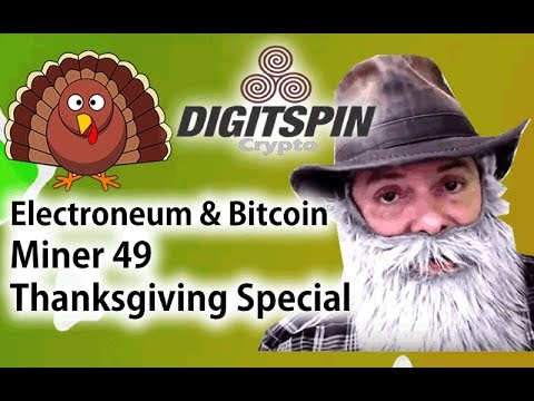 Live Show – Bitcoin – Electroneum – Thanksgiving Special Show with Miner 49er