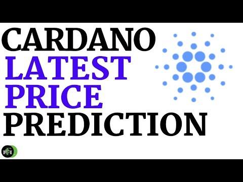 CARDANO (ADA) PRICE PREDICTION (THE LATEST)