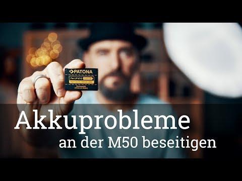 ⭐️ Canon EOS M50 Akkuprobleme beseitigen und Akkuleistung steigern