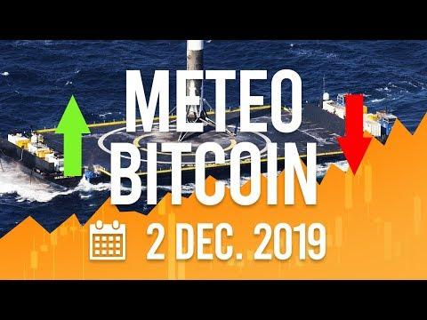 La Météo Bitcoin FR – 2 décembre 2019 – Analyse Crypto Fanta