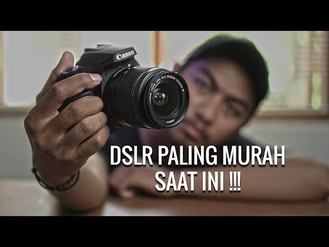 REVIEW DSLR CANON EOS 4000D INDONESIA