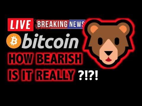 BITCOIN ⚠️How Bearish Is It REALLY? ⚠️❗️LIVE Crypto Analysis TA & BTC Cryptocurrency Price News