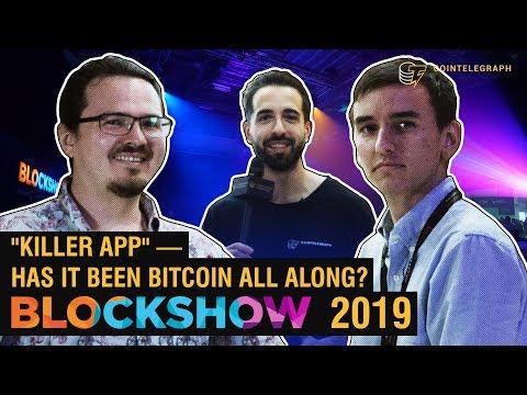 """Is the Next """"Killer App"""" Actually Bitcoin?   The Crypto Lark & The Moon"""