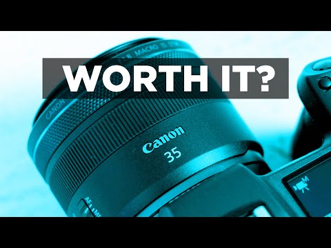 Canon RF 35mm f1.8 Macro IS STM: Lens for EOS R and RP