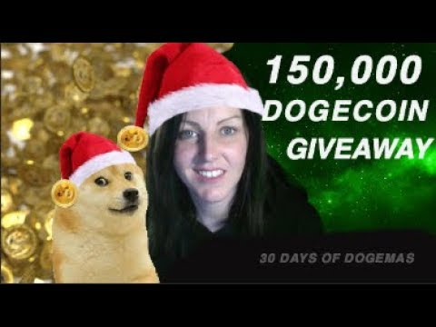 150,000 Dogecoin Giveaway 💰💰🐕🐕🐕🐕