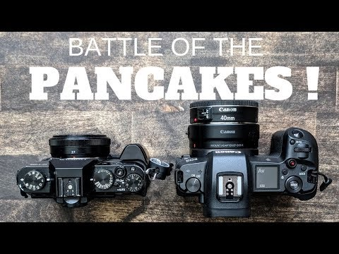 Canon EOS R 40mm vs Fujifilm XT20 27mm