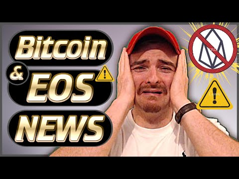 Crypto News Weekly #49 – EOS In Serious Trouble – Bitcoin News Bullish – EOS Dapp News & More!
