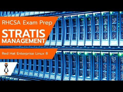 RHCSA 8 Stratis Storage Management