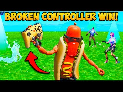 *INSANE* WIN WITH NO CONTROLLER!! – Fortnite Funny Fails and WTF Moments! #760