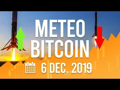 La Météo Bitcoin FR – 6 décembre 2019 – Analyse Crypto Fanta