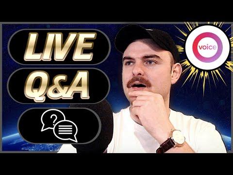 LIVE Q&A – Bitcoin, EOS, Voice, Ethereum, Dapps & More!