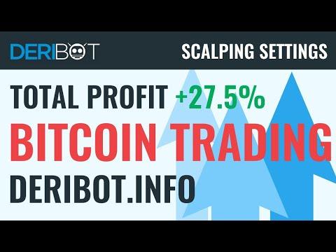 Bitcoin Trading Live / BTCUSD Trading With Crypto Trading Robot DeriBot