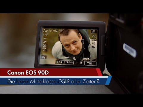 Canon EOS 90D | Foto-Video-Multitalent im DSLR-Gewand im Test [Deutsch]