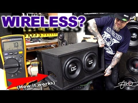 Wireless Neo-Magnetic Quick Release Subwoofer Enclosure – How it Works (the $140 Install) Video 5