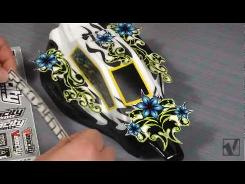 How-to RC Car Body Painting with Stickers – VRC Magazine