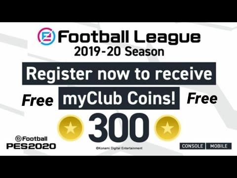 #efootbal#pes2020 OMG 300 club coin by konami free???