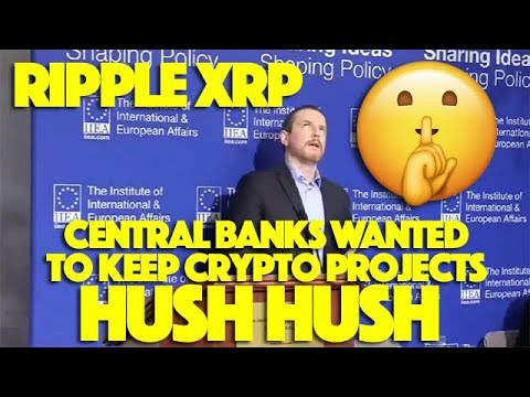 Ripple XRP: Central Banks Wanted To Keep DLT Crypto Tech HUSH HUSH Until Facebook Came Along