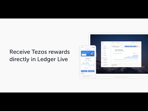 Grow your Tezos with Ledger Live