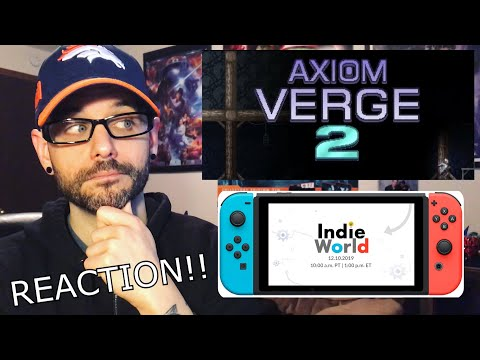 Nintendo Indie World 12.10.19 Reaction – Axiom Verge 2 SHOCKER!!