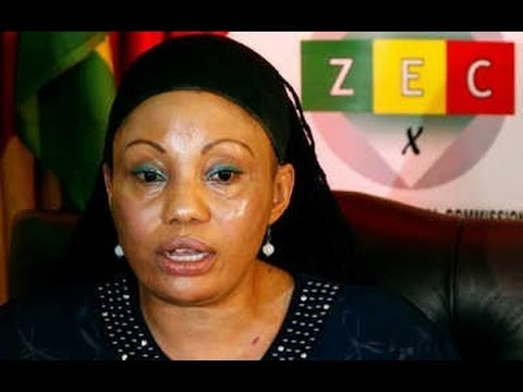 Angry President Mnangagwa lashed out at ZEC Chairperson Priscilla Chigumba