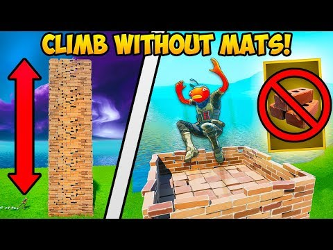 *NEW TRICK* TAKE HIGH GROUND WITH NO MATS!! – Fortnite Funny Fails and WTF Moments! #768