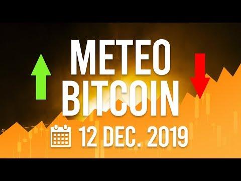 La Météo Bitcoin FR – 12 décembre 2019 – Analyse Crypto Fanta