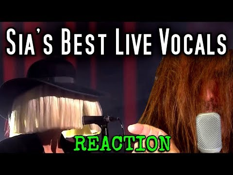 Vocal Coach Reacts to Sia's Best Live Vocals – Ken Tamplin