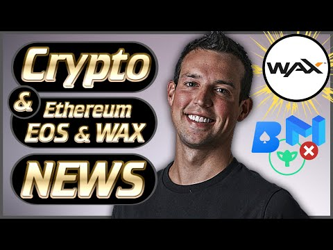 Crypto News Weekly #50 – Bitcoin, EOS, Ethereum & WAX News! – Matic Crash, EOS Dapps Leaving! & More