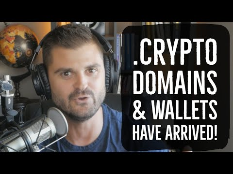 .Crypto Domains & Wallets Have Arrived!