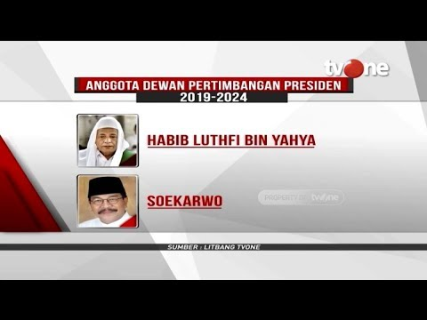 Ada Habib Luthfi dan Wiranto, Ini Daftar Watimpres yang Baru Dilantik