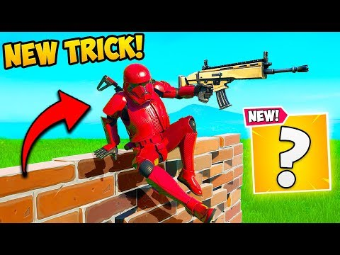 *NEW TRICK* VAULT OVER BUILDS!! – Fortnite Funny Fails and WTF Moments! #770