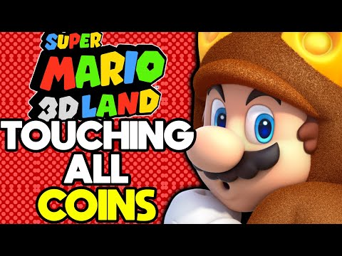 Is it Possible to Beat Super Mario 3D Land While Touching Every Coin?