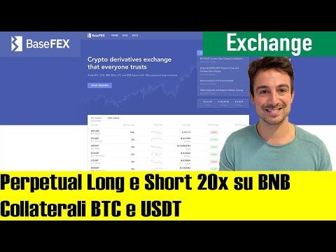 Long e Short con LEVA fino a 100x, anche su Binance Coin (BNB): Ecco BaseFEX
