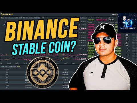 Remember when Binance talked about having a stable coin?