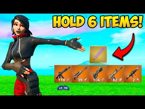 *NEW TRICK* HOLD 6 ITEMS AT ONCE!! – Fortnite Funny Fails and WTF Moments! #772