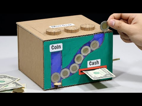 Build Personal ATM VS Coin and Cash Saving Box