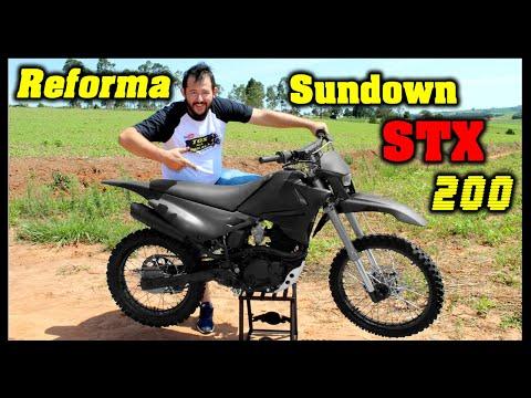 REFORMA SUNDOWN STX 200 – TGS NA TRILHA