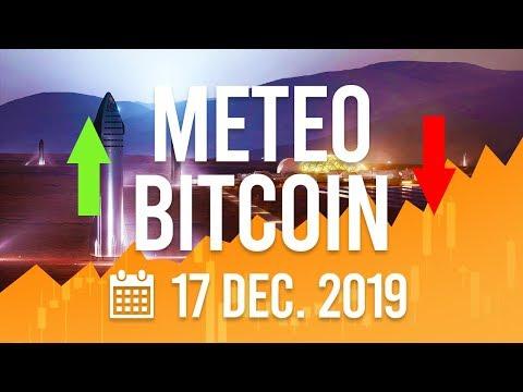 La Météo Bitcoin FR – 17 décembre 2019 – Analyse Crypto Fanta
