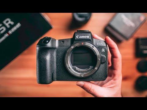 YENİ FOTOĞRAF MAKİNEM | Canon EOS R Kutu Açılımı