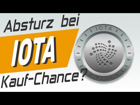Absturz bei IOTA! Warum?
