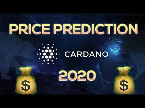 (ADA) Cardano Price Prediction 2020 & Analysis