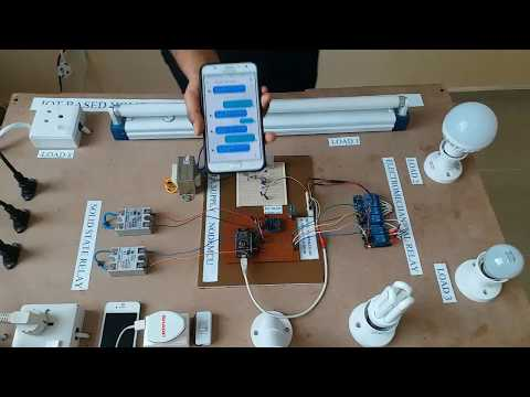IOT Based Home Automation System Over The Cloud