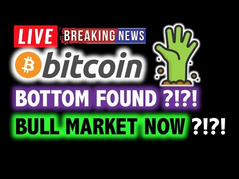 BITCOIN 🚀BOTTOM IS IN? BULL MARKET BEGINS?❗️LIVE Crypto Analysis TA & BTC Cryptocurrency Price News
