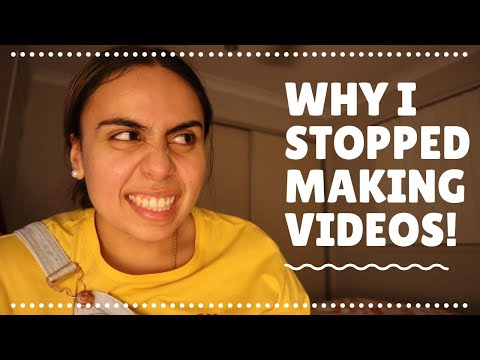 Why I Stopped Making Videos | YouTube Motivation | Sia'a Soo