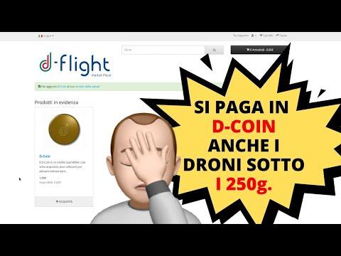 D-FLIGHT E' ARRIVATO E SI PAGA IN D-COIN DA 6 A 96€ ANCHE SOTTO I 250g. VANNO REGISTRATI!!!!